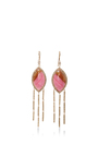 Marquise Rhodo Agate Earrings by JACQUIE AICHE Now Available on Moda Operandi