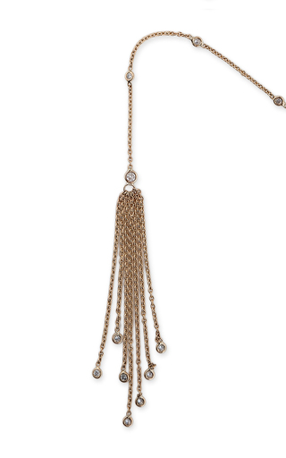 Double Tassel Wrap Necklace by JACQUIE AICHE Now Available on Moda Operandi