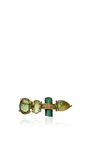 Tourmaline And Quartz Ear Jacket by JACQUIE AICHE Now Available on Moda Operandi