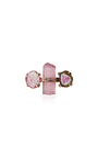 Tourmaline Stud Single Earring by JACQUIE AICHE Now Available on Moda Operandi