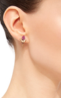 Tourmaline And Shark Tooth Single Earring by JACQUIE AICHE Now Available on Moda Operandi