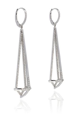 Diamond Dagger Earrings by SUSAN FOSTER Now Available on Moda Operandi