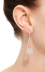 Rose Cut Dagger Earrings by SUSAN FOSTER Now Available on Moda Operandi