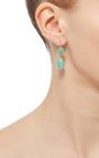 Antique Emerald Drop Earrings by RENEE LEWIS Now Available on Moda Operandi
