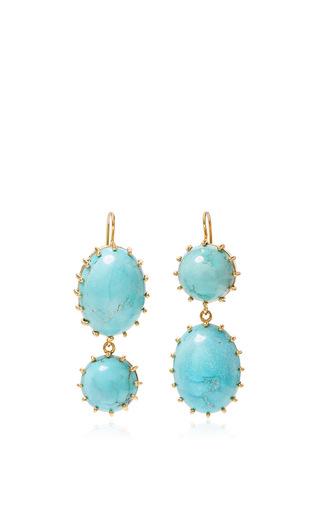 Medium renee lewis blue antique persian turquoise earrings