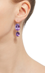 Antique Amethyst Drop Earrings by RENEE LEWIS Now Available on Moda Operandi