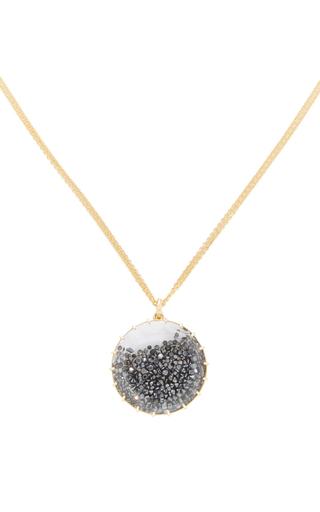 Black Diamond Shake Pendant by RENEE LEWIS Now Available on Moda Operandi