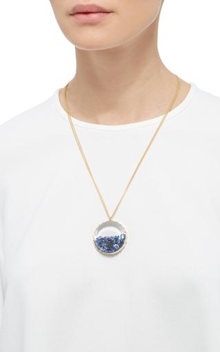 Sapphire Shake Pendant by RENEE LEWIS Now Available on Moda Operandi
