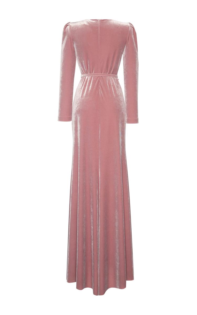 Velvet Maxi Dress By Luisa Beccaria Moda Operandi
