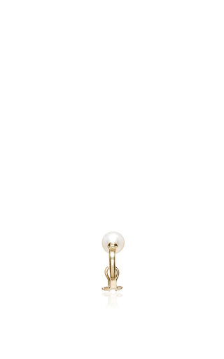 Medium ana khouri gold mirian pearl earcuff