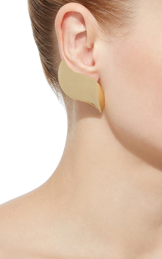 Gold Annabel Earrings by ANA KHOURI Now Available on Moda Operandi