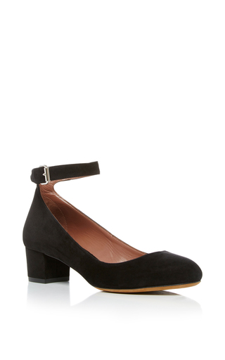 Medium tabitha simmons black martha kitten heel