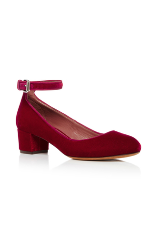 Medium tabitha simmons red martha kitten heel 2