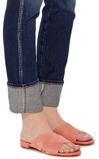 Cross Strap Sandals by MANSUR GAVRIEL Now Available on Moda Operandi