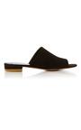 Suede Flat Mule by MANSUR GAVRIEL Now Available on Moda Operandi