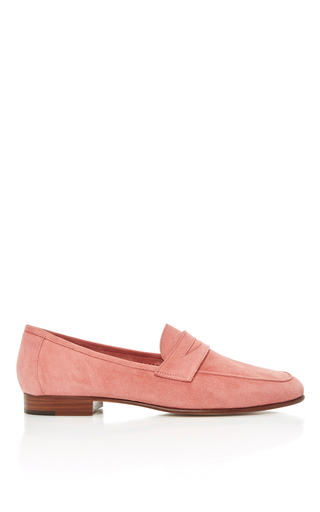 Medium mansur gavriel pink classic loafer 6