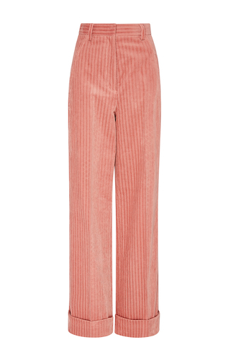 Medium trademark light pink pink melanie corduroy high waisted pant