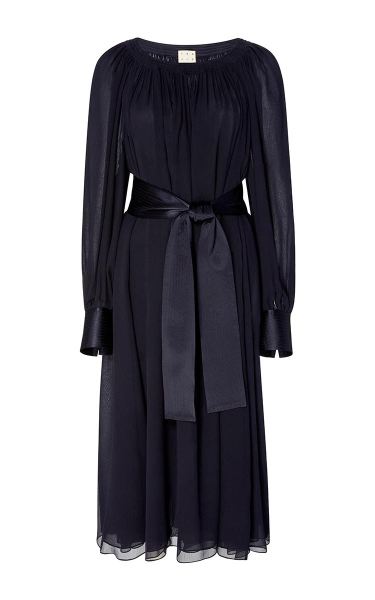 7507b4d980ce Yves Shirred Chiffon Dress by Trademark | Moda Operandi
