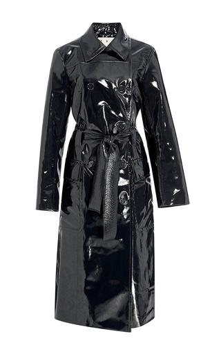 Medium trademark navy navy bethnal twill oversized trench coat