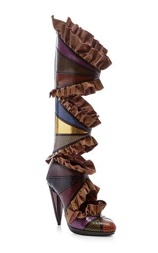 Medium rodarte multi embossed metallic boots  2