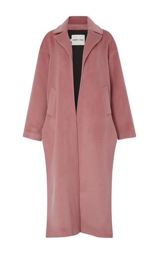 Medium sandy liang pink ava long split coat