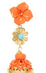 Coral Aviary Classic Earring by OF RARE ORIGIN Now Available on Moda Operandi