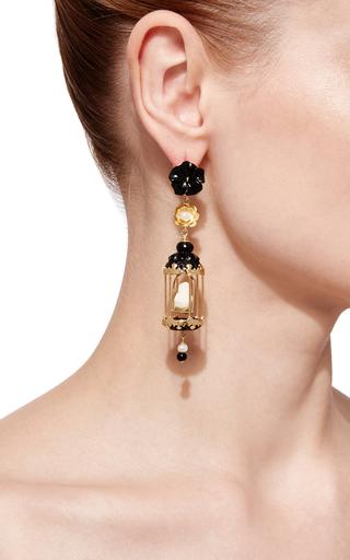 Black Aviary Earring by OF RARE ORIGIN Now Available on Moda Operandi