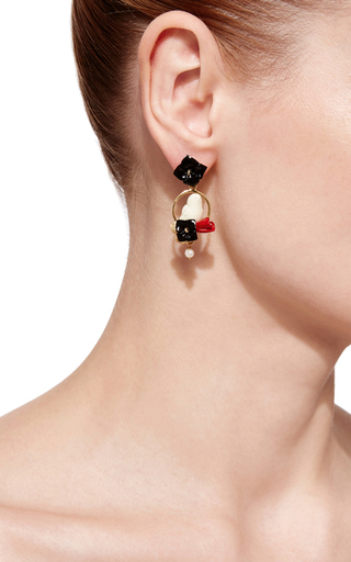 Chicks Earrings by OF RARE ORIGIN Now Available on Moda Operandi