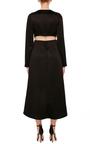 Satin Cross Body Top by ROSETTA GETTY Now Available on Moda Operandi
