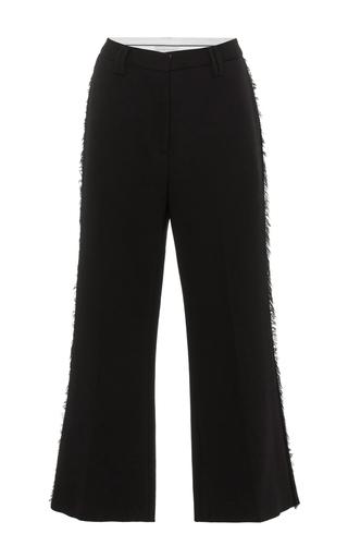 Medium nellie partow black anja cropped trousers