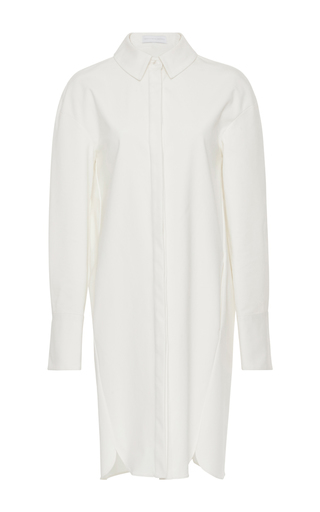 Medium nellie partow white ben shirt dress