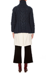 Sydney Cableknit Turtleneck by NELLIE PARTOW Now Available on Moda Operandi