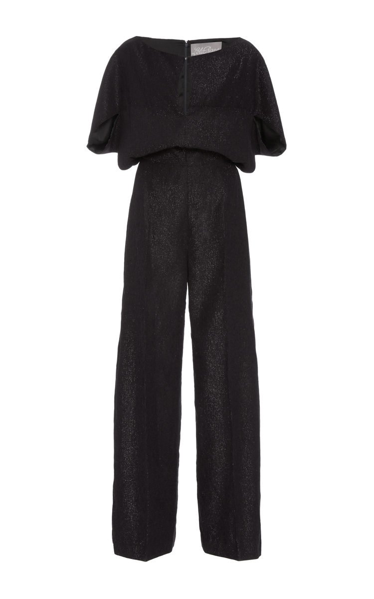 9997995e3dbc Cape Sleeve Jumpsuit by Lela Rose