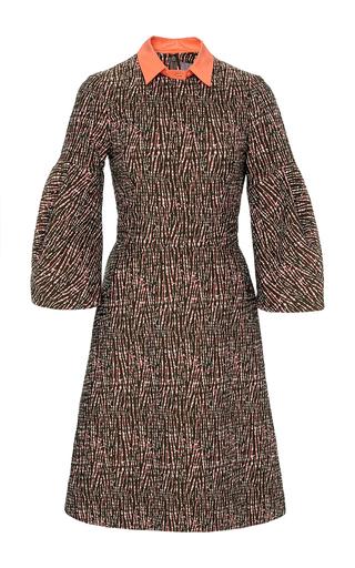 Medium lela rose multi a line dress with detachable collar