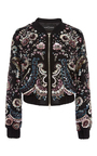 Cinder Lace Bomber by NEEDLE & THREAD Now Available on Moda Operandi