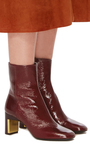 Bordeaux Ankle Boot by ROSETTA GETTY Now Available on Moda Operandi