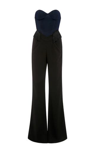 Medium jonathan simkhai black elastania bustier jumpsuit