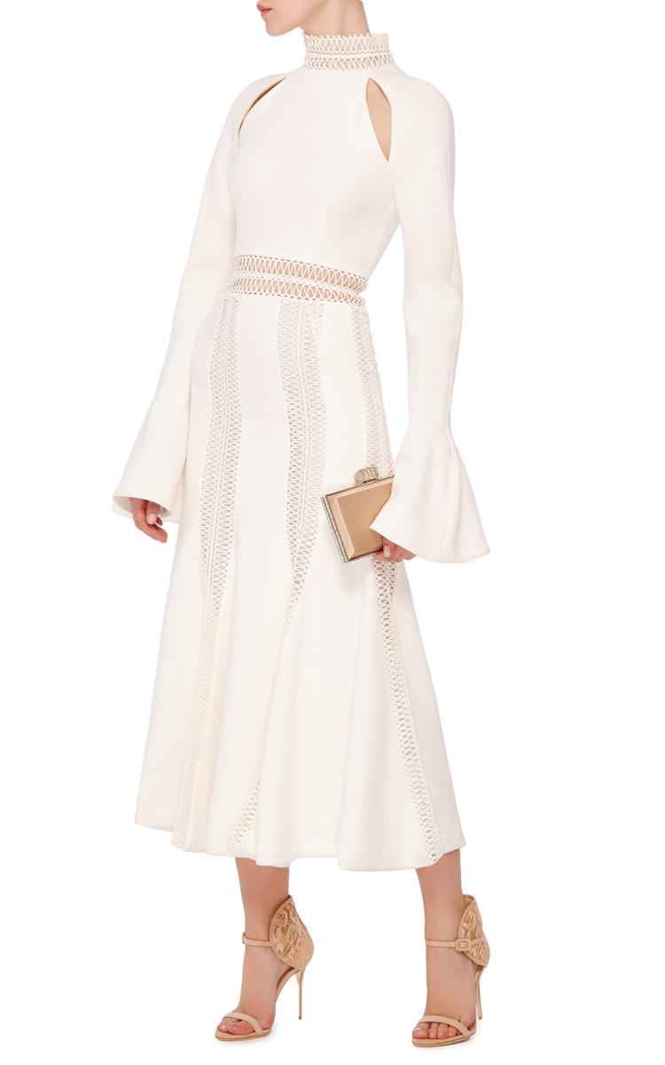 Trumpet Sleeve Trim Dress By Jonathan Simkhai Moda Operandi