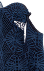 Lace Applique Bustier Tunic by JONATHAN SIMKHAI Now Available on Moda Operandi