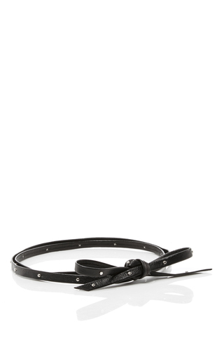Medium fallon black armure studded choker