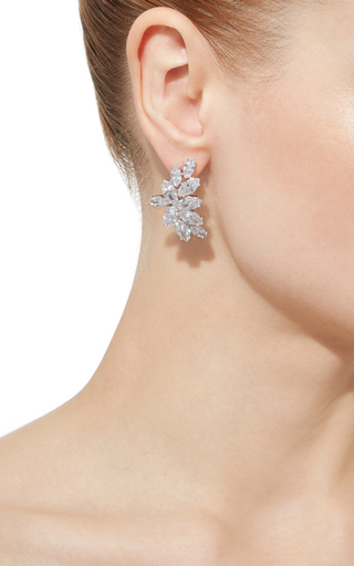 Crescent Post Earrings by FALLON Now Available on Moda Operandi