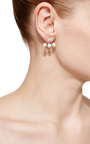 Triple Pearl Ear Jackets by FALLON Now Available on Moda Operandi