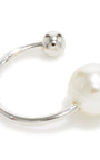 Pearl Ear Cuff  by FALLON Now Available on Moda Operandi