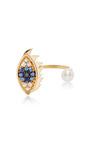 Eyes On Me Piercing Ring by DELFINA DELETTREZ Now Available on Moda Operandi