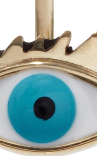 Gold Eye Piercing Earring by DELFINA DELETTREZ Now Available on Moda Operandi