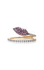 Marry Me Lips Ring by DELFINA DELETTREZ Now Available on Moda Operandi