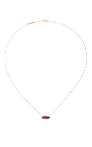 Gold Lips Chain by DELFINA DELETTREZ Now Available on Moda Operandi
