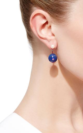 Stone Edge Piercing Earring by DELFINA DELETTREZ Now Available on Moda Operandi