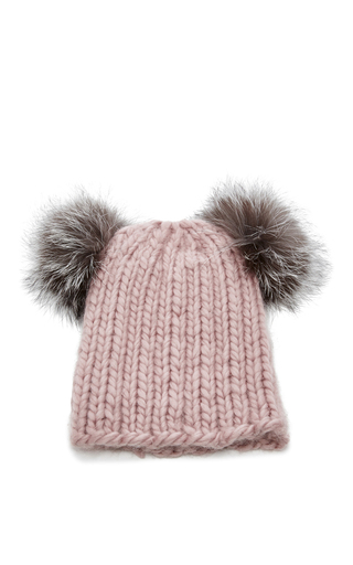 Medium eugenia kim pink mimi knit beanie 2