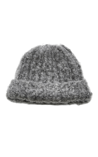 Medium eugenia kim light grey shannon knit beanie